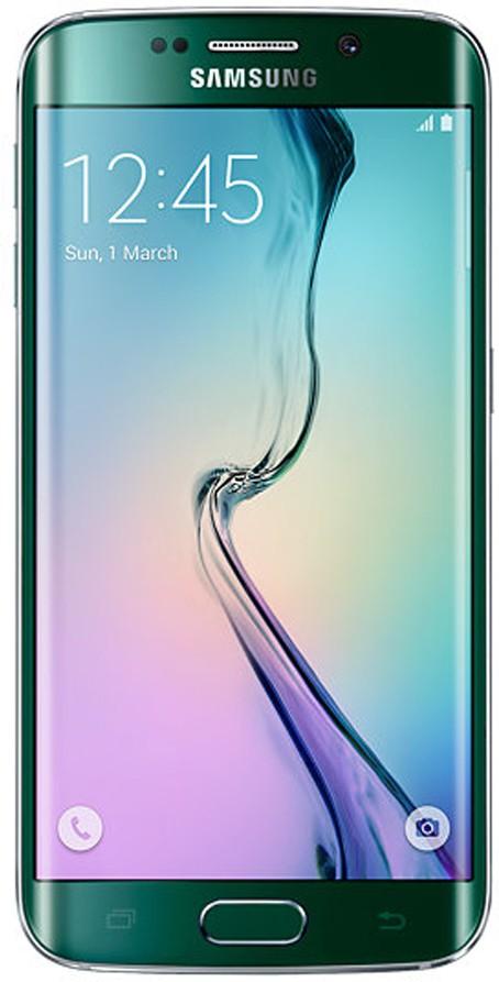 SAMSUNG Galaxy S6 Edge 64GB Single Sim - Green (Green, 64 GB)(3 GB RAM)