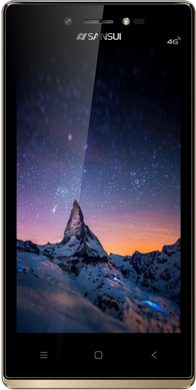 Sansui S50 (Black & Gold, 8 GB)(1 GB RAM)