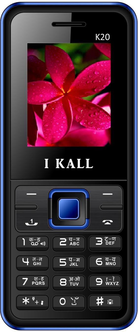I Kall K20(Black & Blue)