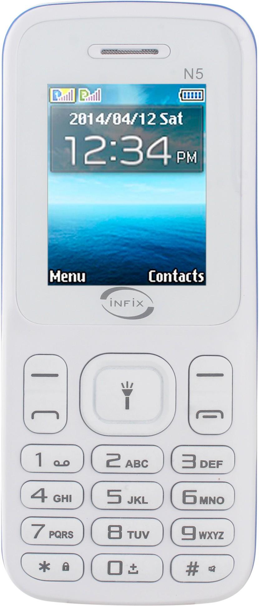 Infix N5(White & Blue)