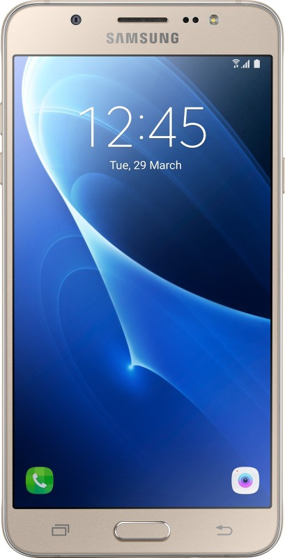 SAMSUNG Galaxy J7 - 6 (New 2016 Edition) (Gold, 16 GB)(2 GB RAM)