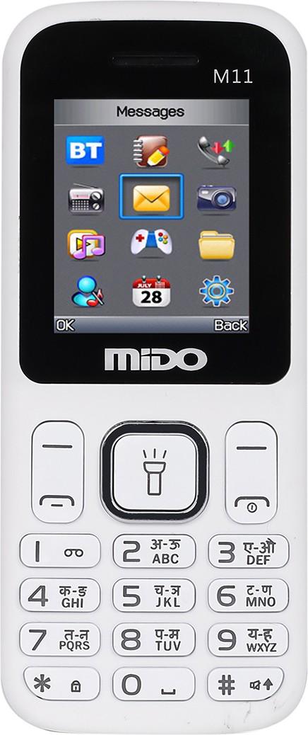Mido M11(White & Blue)