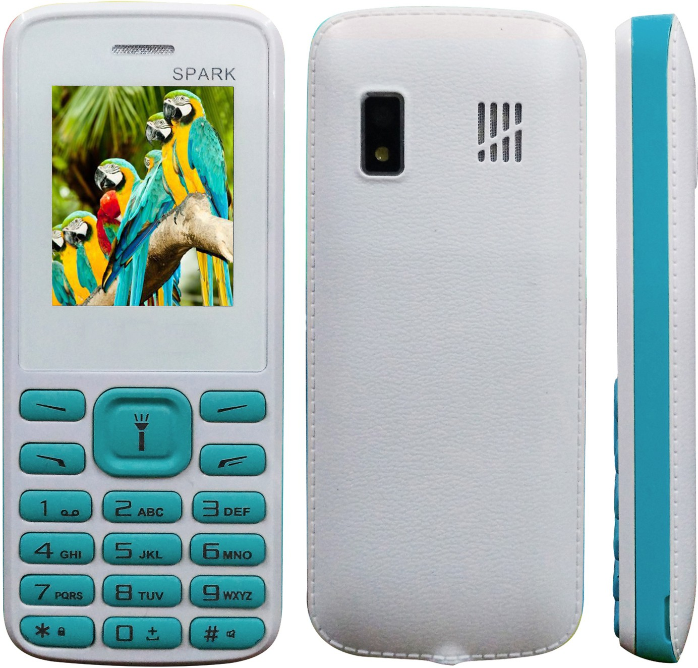 Mobi Store Spark(White and Blue)
