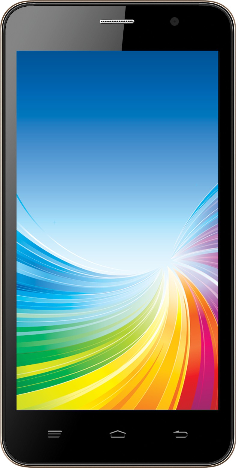 Intex Cloud 4G Smart (Black & Champagne, 8 GB)(1 GB RAM)