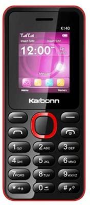 Karbonn K140 (Red, Black, )