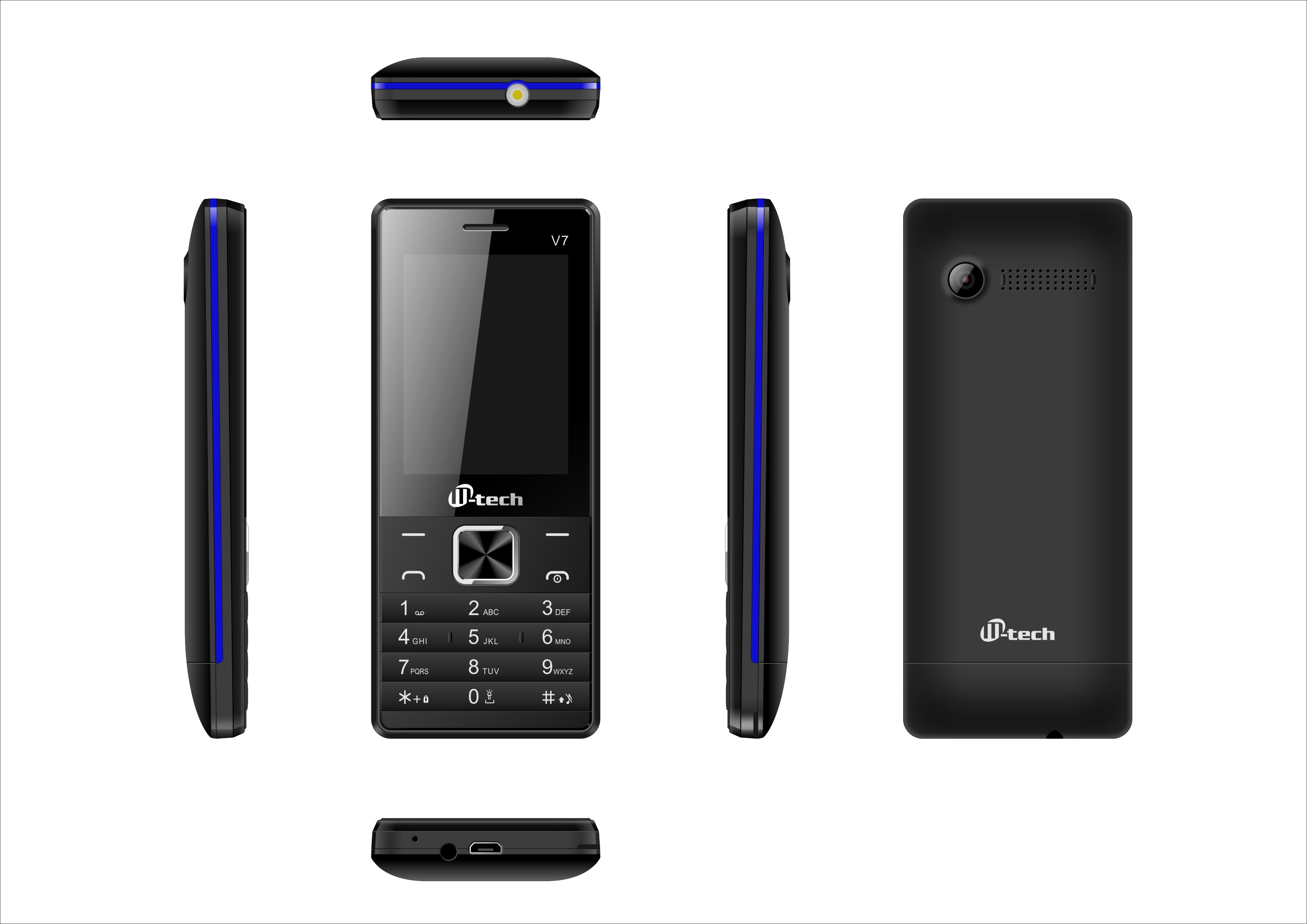 M-tech V7(Blue)