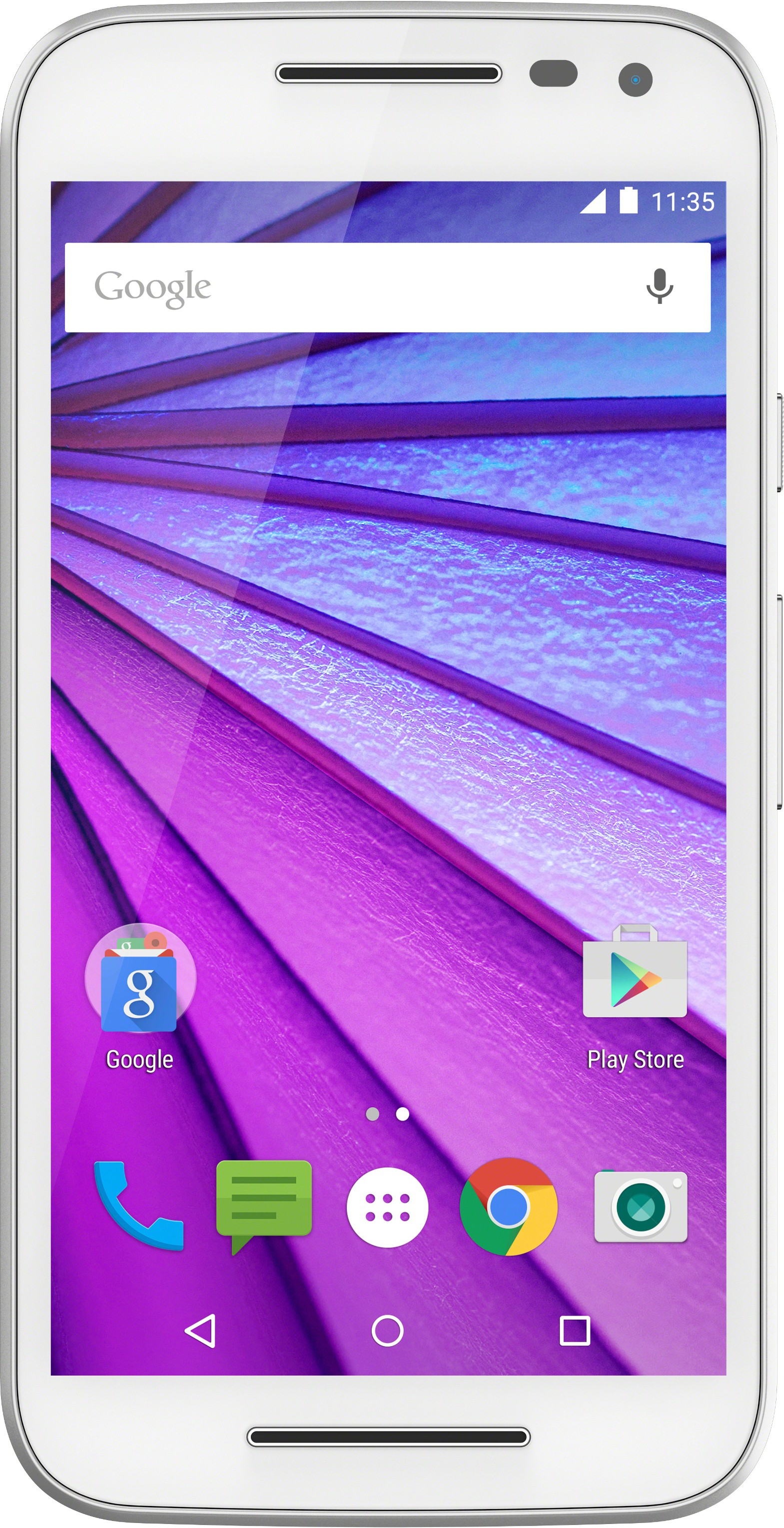 View Moto G (3rd Generation) (White, 16 GB)(2 GB RAM) Mobile Price Online(Motorola)