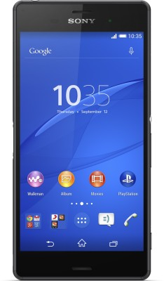 Sony Xperia Z3 (Black, 16 GB)(3 GB RAM) at flipkart