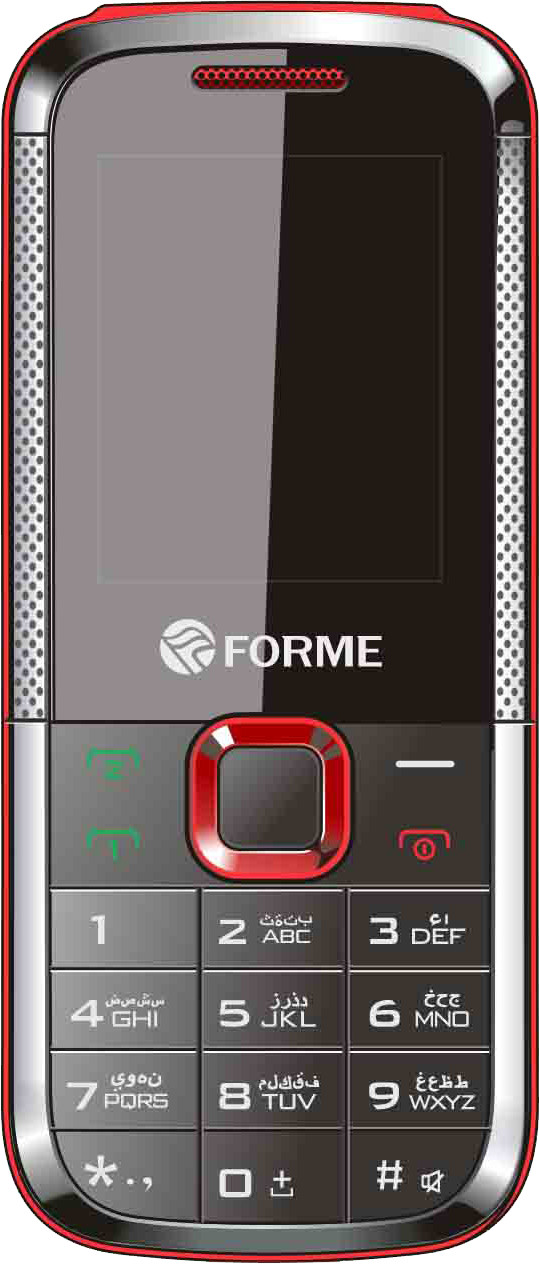 Forme Mini5130Plus(Black & Red)