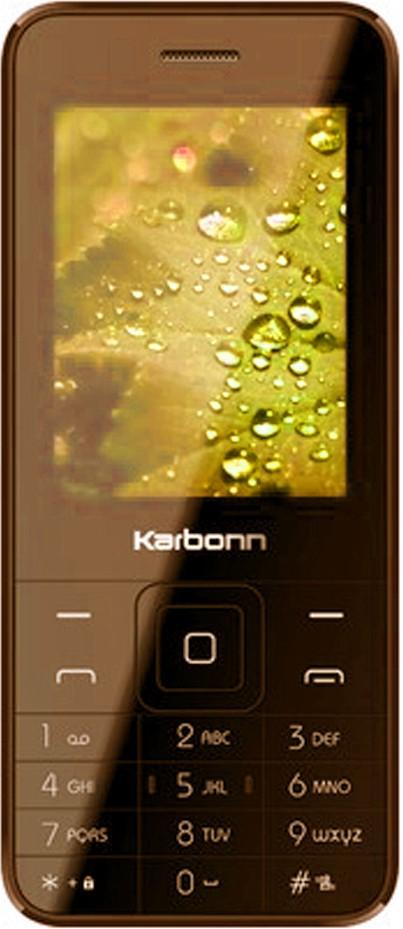 Karbonn K-Phone 1 Dual Sim - Brown(Brown)