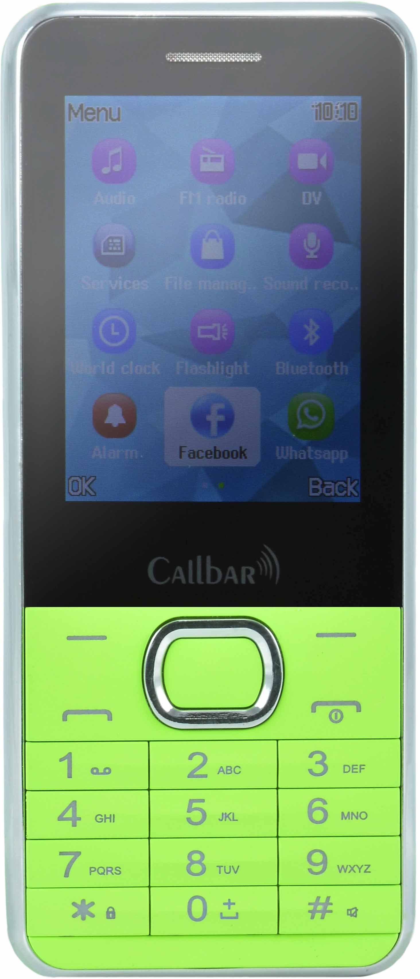 Callbar CALLBAR C66 Green(Green)