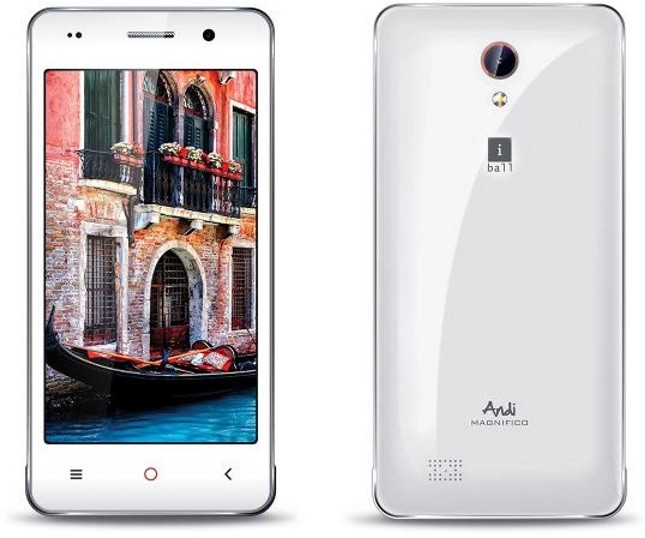 iBall Andi 4.5C (Grey, 8 GB)(512 MB RAM)