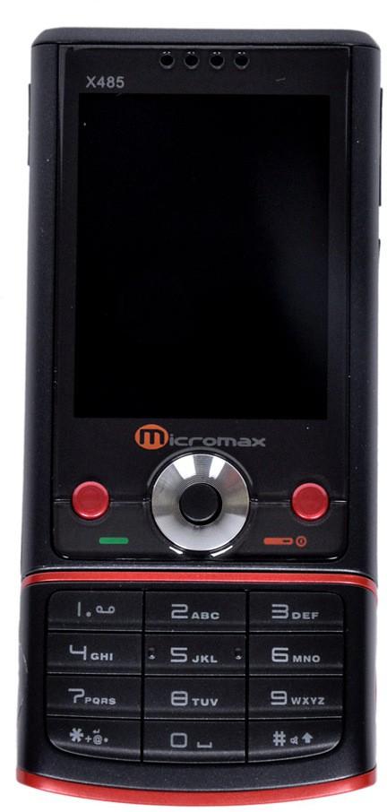Micromax X485 Revolve(Black, Red)