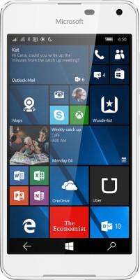 Microsoft Lumia 650 (White Light Silver, 16 GB)