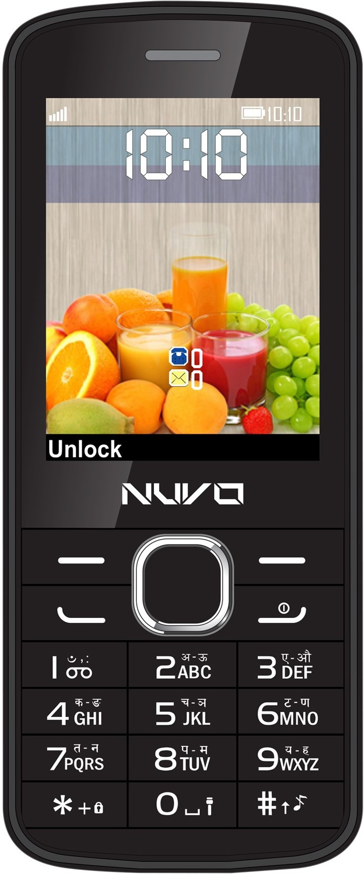 Nuvo Flash Black Echo Without Accessories(Black)