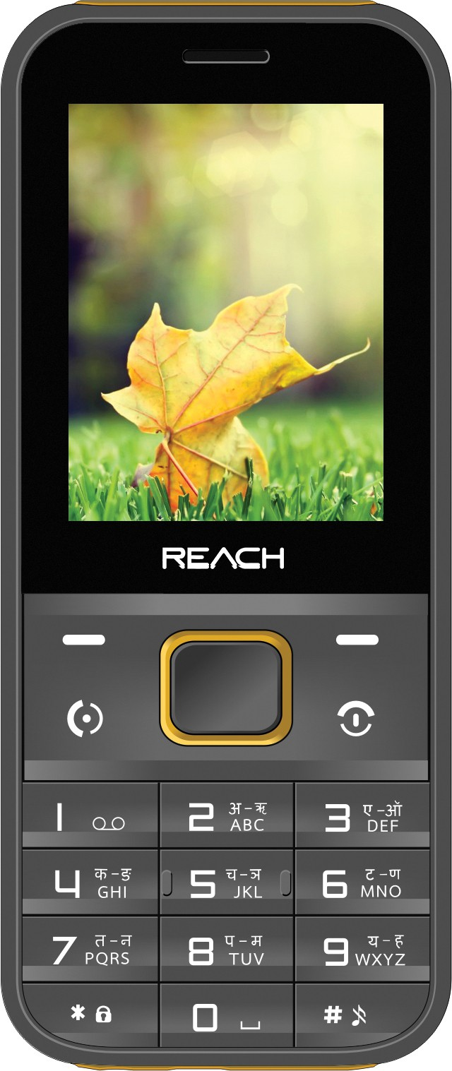 Reach Cogent Max(Grey & Yellow)