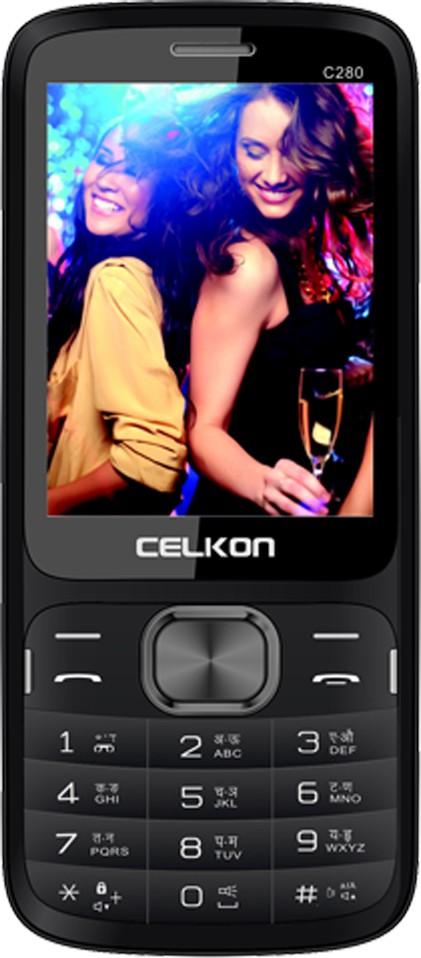 Celkon C280(Black)
