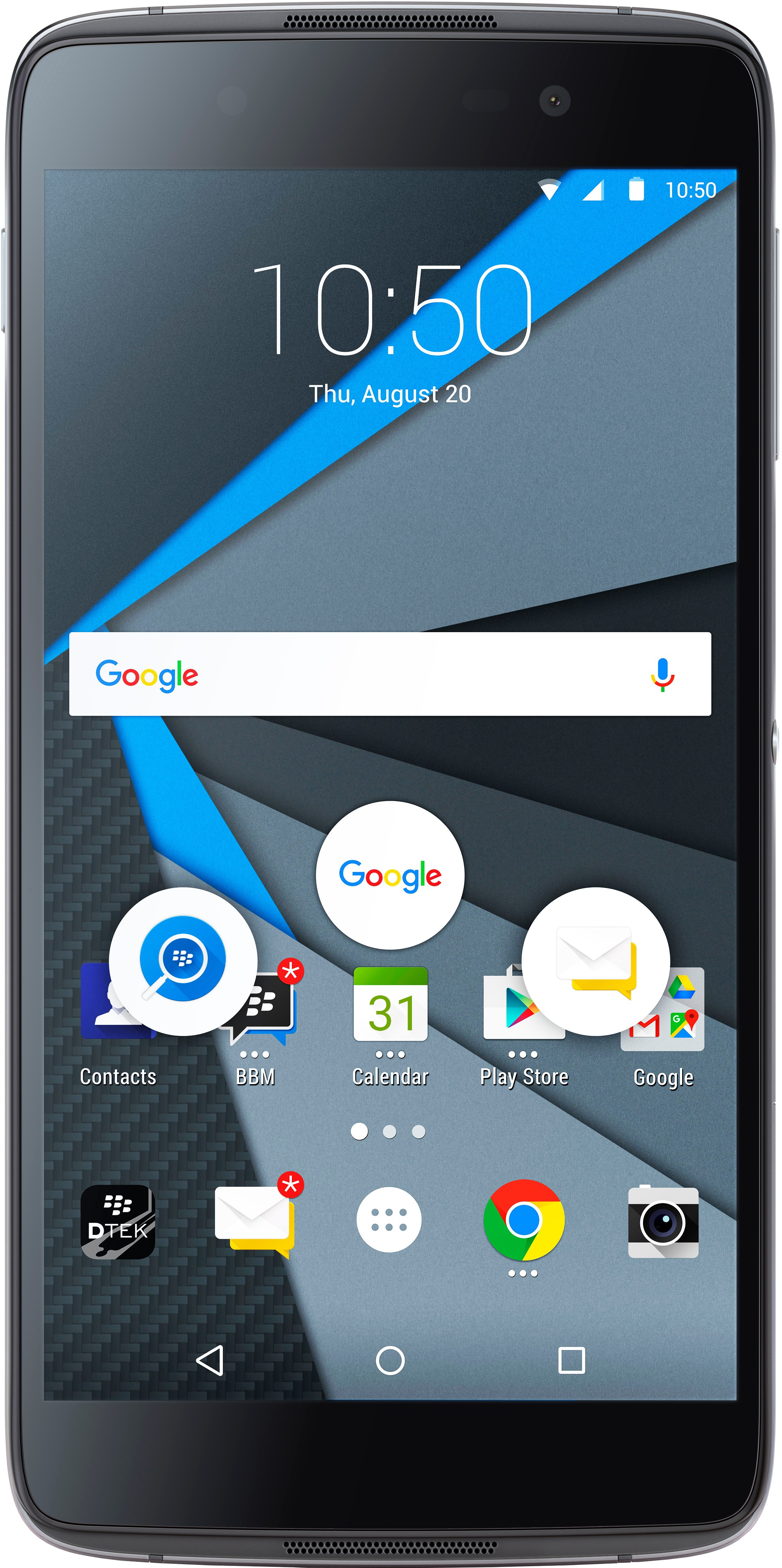View Blackberry DTEK50 (Grey, 16 GB)(3 GB RAM) Mobile Price Online(BlackBerry)