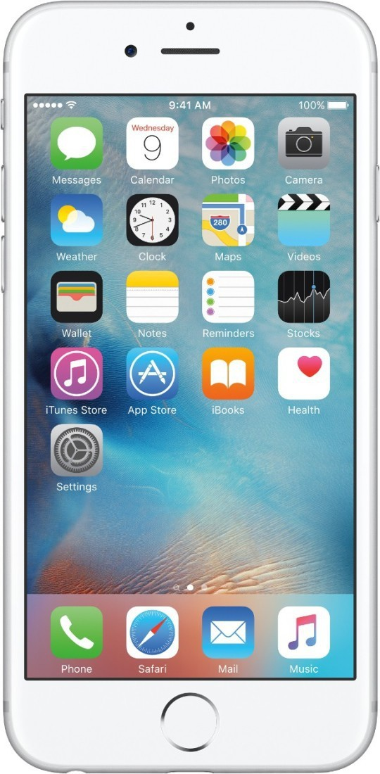 Apple iPhone 6s (Silver, 32 GB)(2 GB RAM)