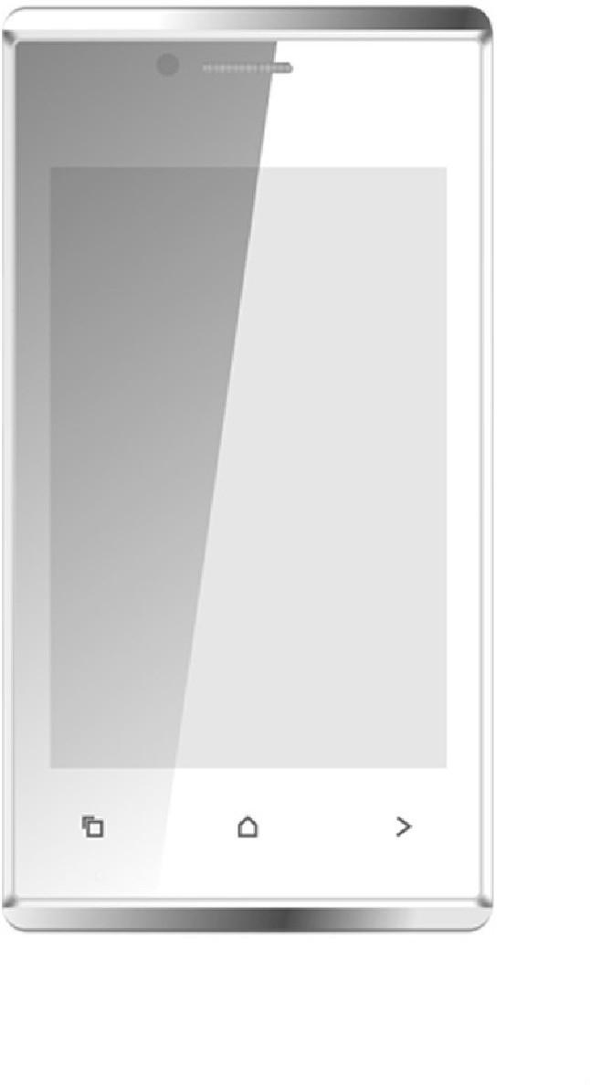 Karbonn A202 (White, Silver, 512 MB)(256 MB RAM)