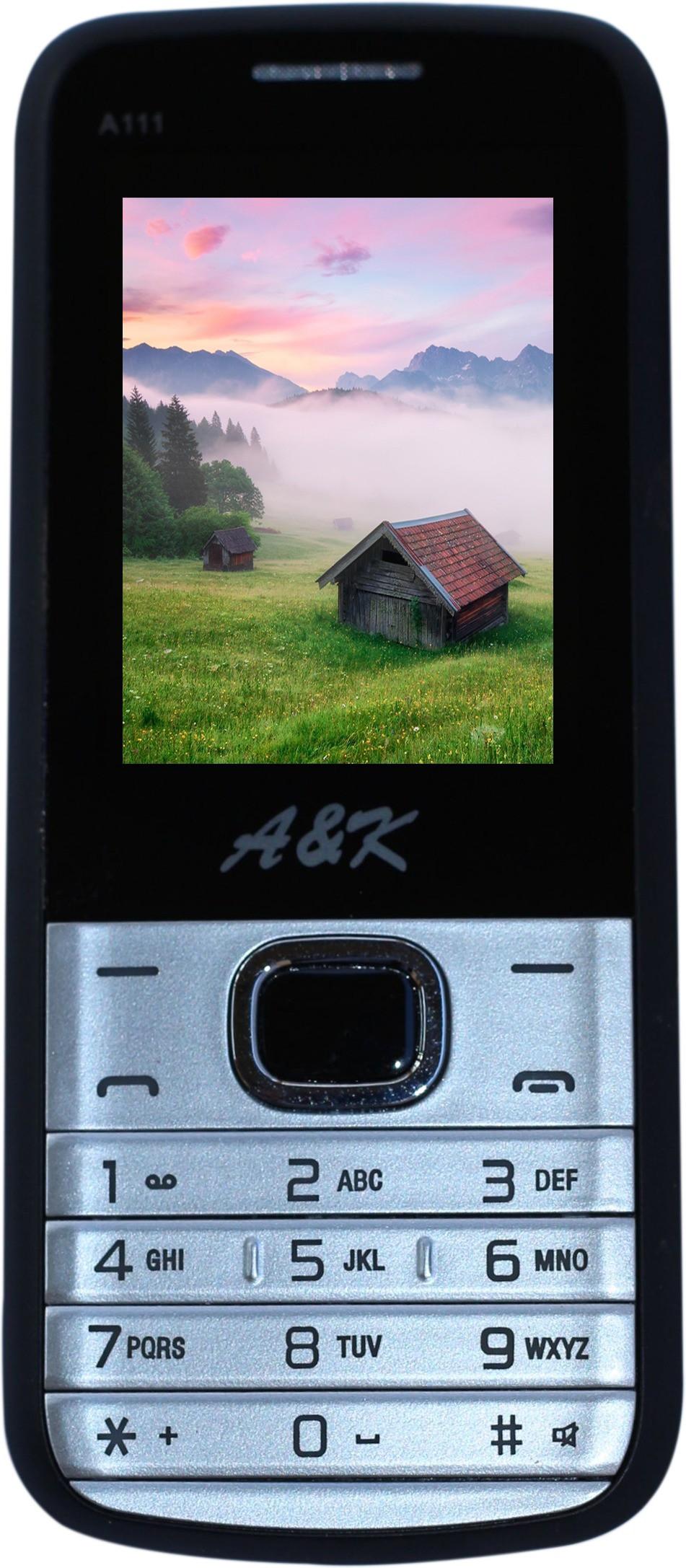 A&K A111(Silver & Black)