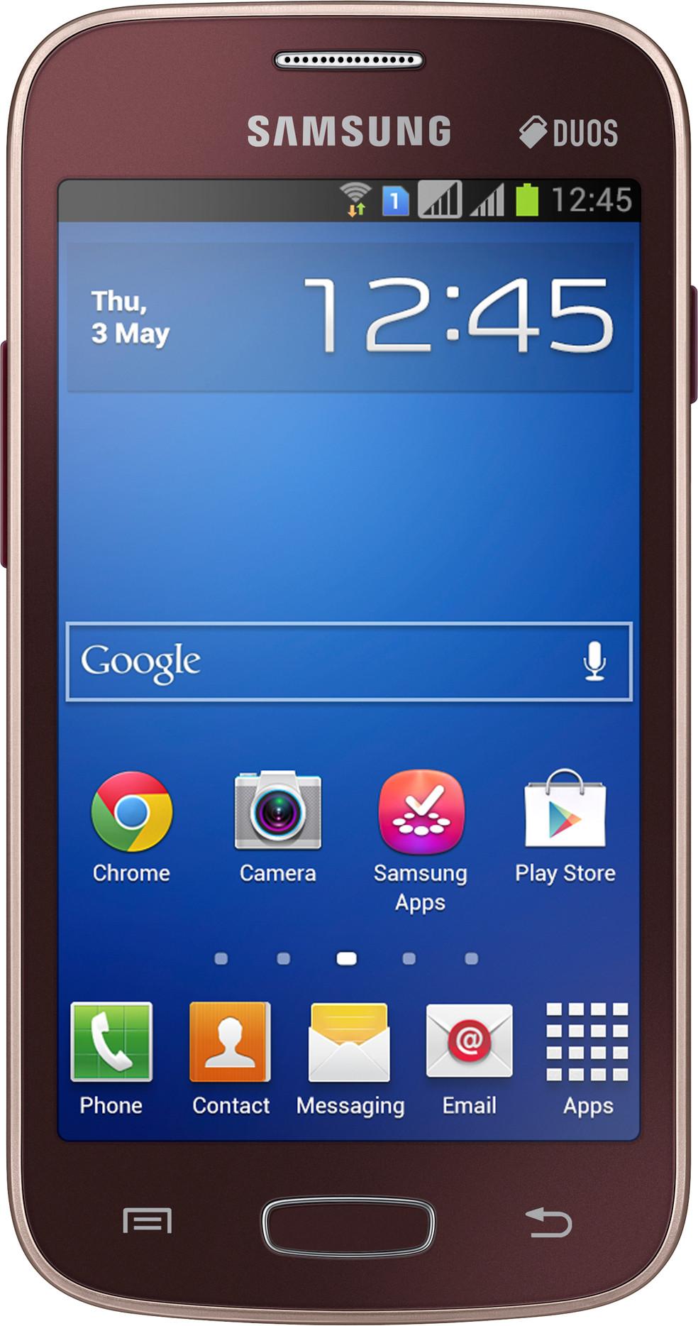 SAMSUNG Galaxy Star Pro (Wine Red, 4 GB)(512 MB RAM)