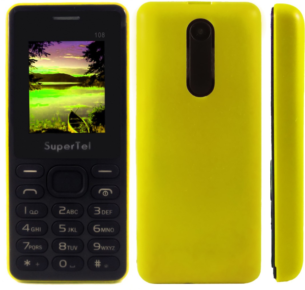 Supertel 108(Yellow & Black)