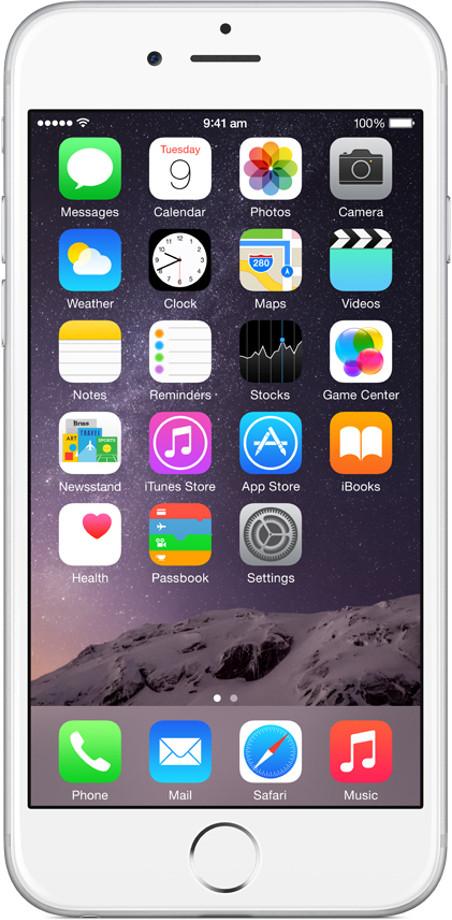 Apple iPhone 6 (Silver, 128 GB)(1 GB RAM)