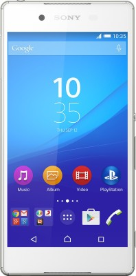 Sony Xperia Z3+  White, 32   GB  available at Flipkart for Rs.26690