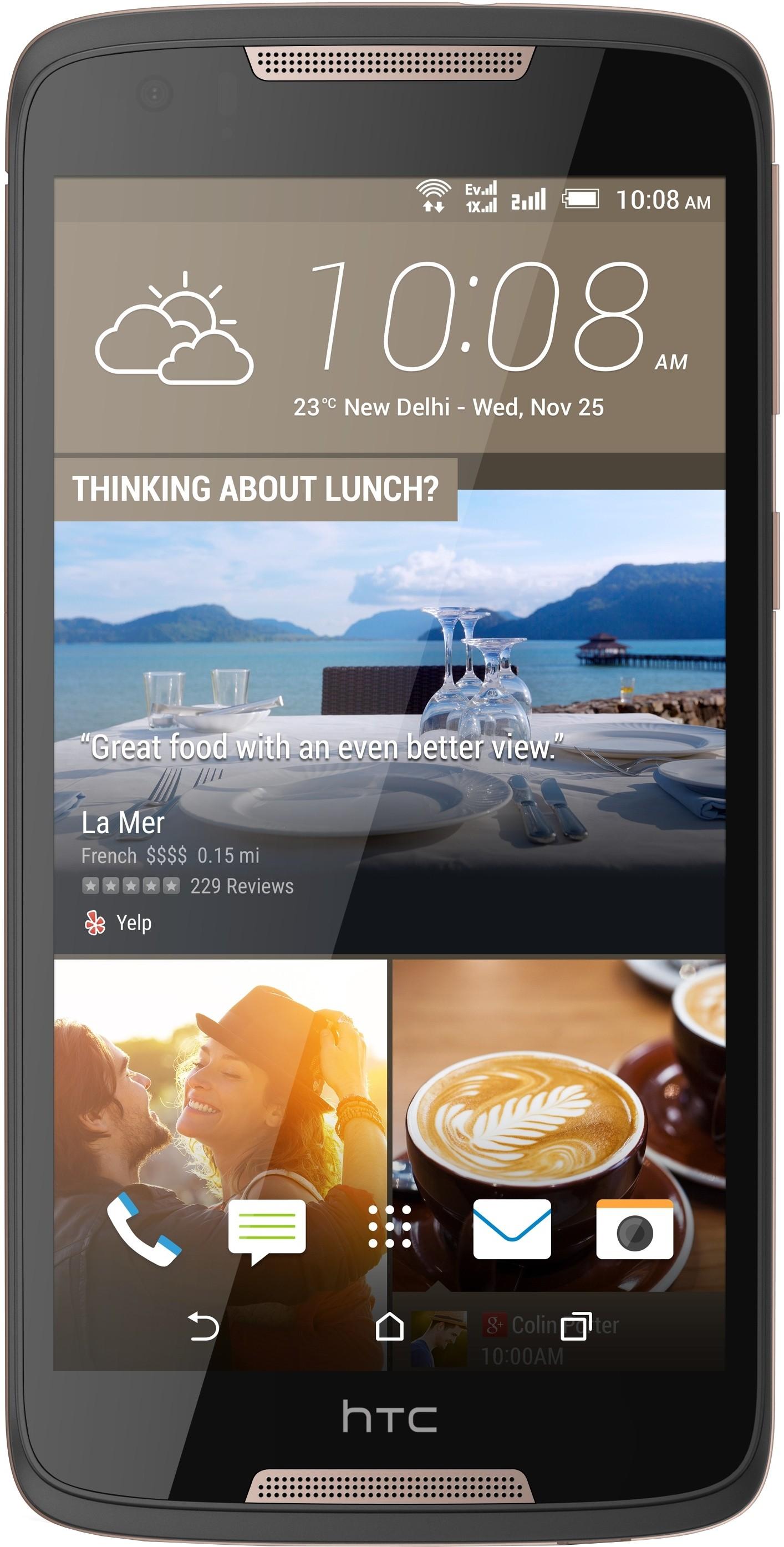 HTC Desire 828 Dual Sim (Dark Grey, 16 GB)(2 GB RAM)
