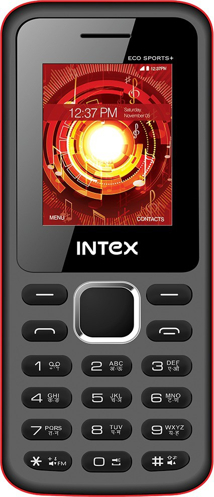 Intex Eco Sports+(Black and Red)