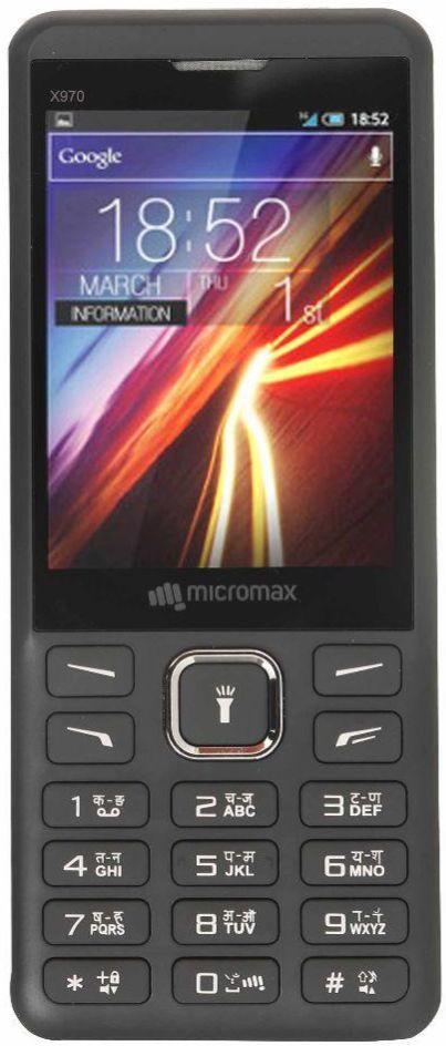 Micromax X970(Black)