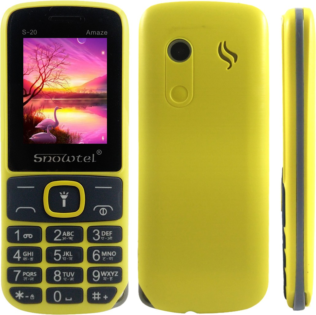 Snowtel S20(Yellow & Grey)
