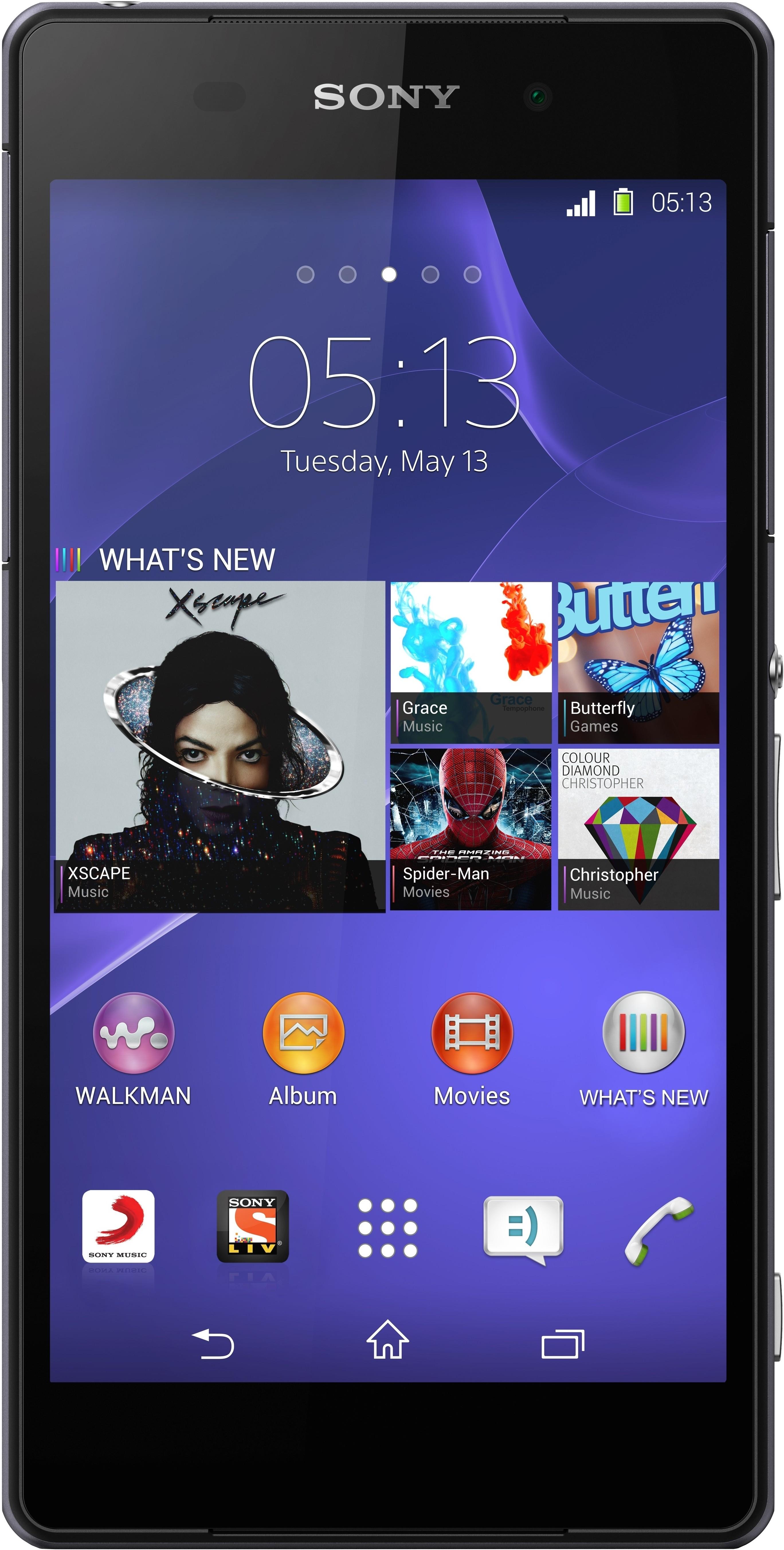 Sony Xperia Z2 (Black, 16 GB)