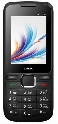 Lava KKT22S BLACK RED (Black, Red, 32 MB)
