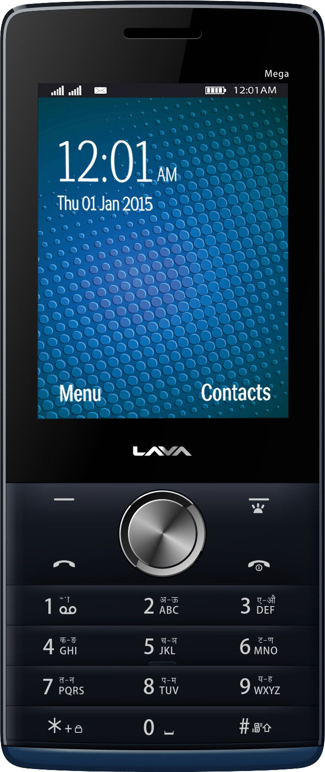 Lava KKT Mega(Black & Blue)