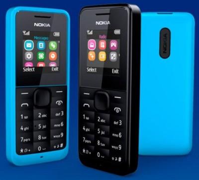 Nokia 105 DS (Cyan, 4 MB)