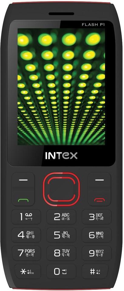 Intex Flash P1(Black & Red)
