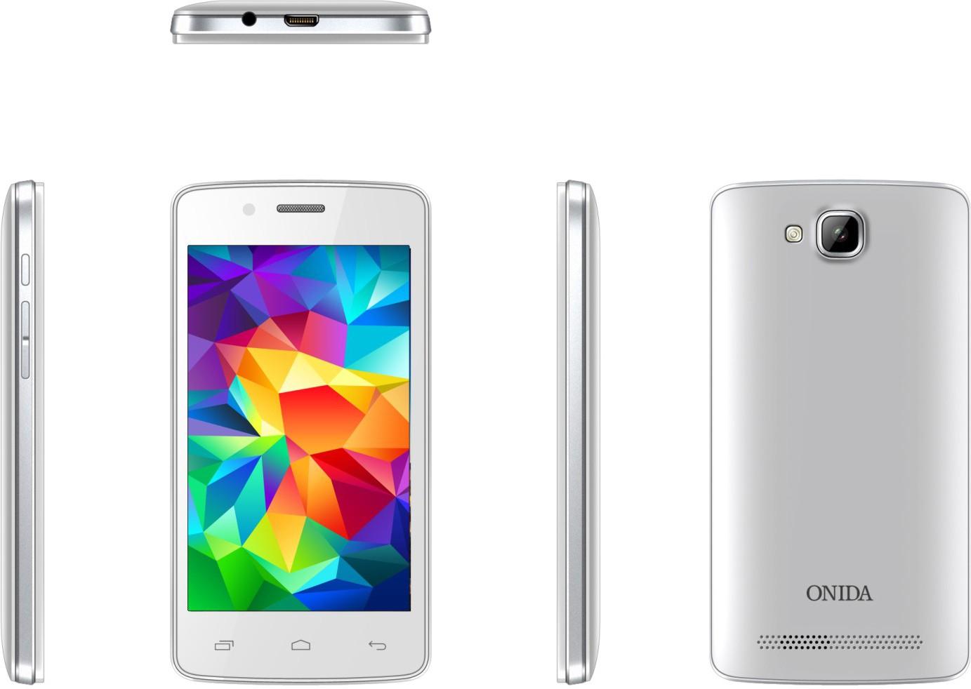 Onida I407 (White, 4 GB)(256 MB RAM)