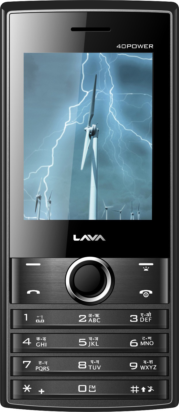 Lava KKT 40 Power(Grey & Black)