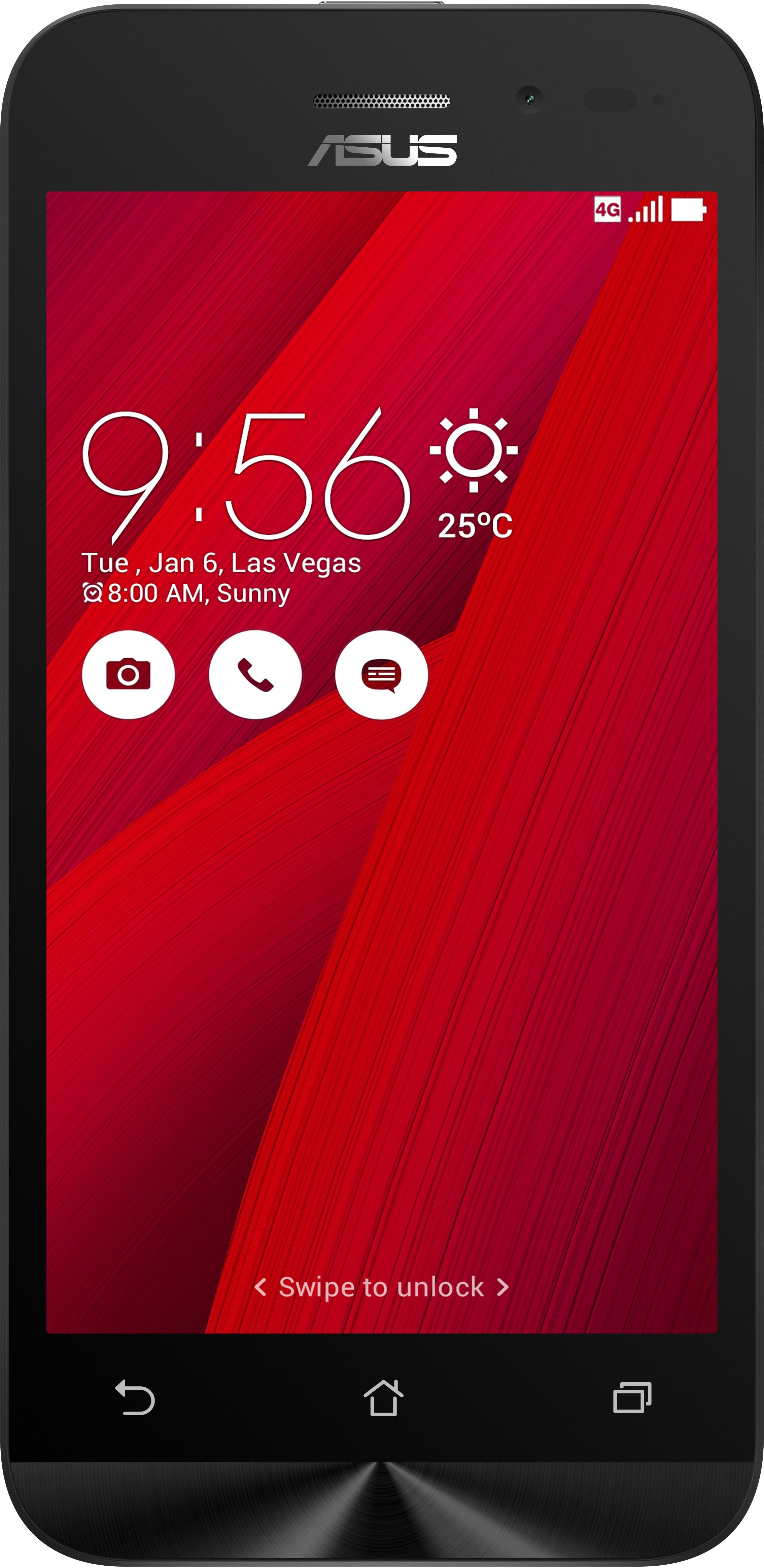 Asus Zenfone Go 4.5 LTE (Red, 8 GB)(1 GB RAM)