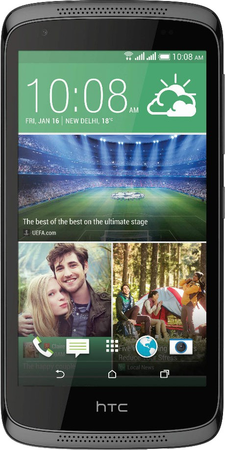 HTC Desire 526G Plus (Glossy Black, 16 GB)(1 GB RAM)