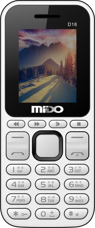 Mido D18(White & Black)