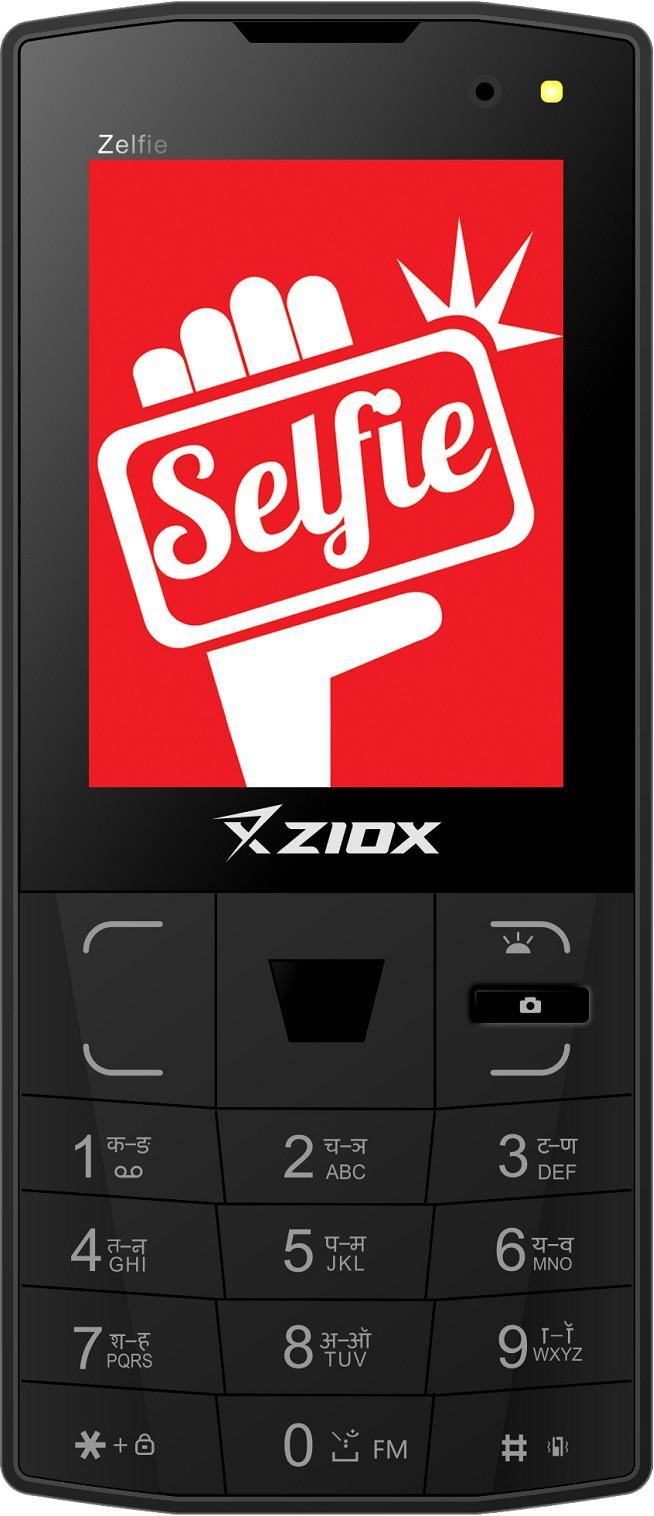 Ziox Zelfie(Black & Silver)