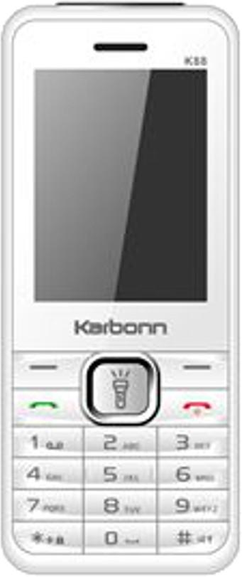 Karbonn K88(White & Silver)