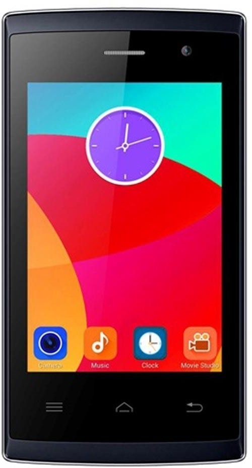 Intex Aqua T5 (Blue, 512 MB)(256 MB RAM)