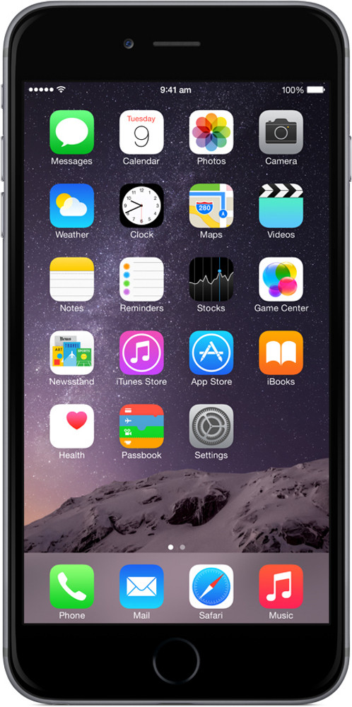 Apple iPhone 6 Plus (Space Grey, 128 GB)