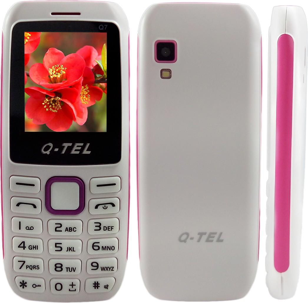Q-Tel Q7(White, Purple)