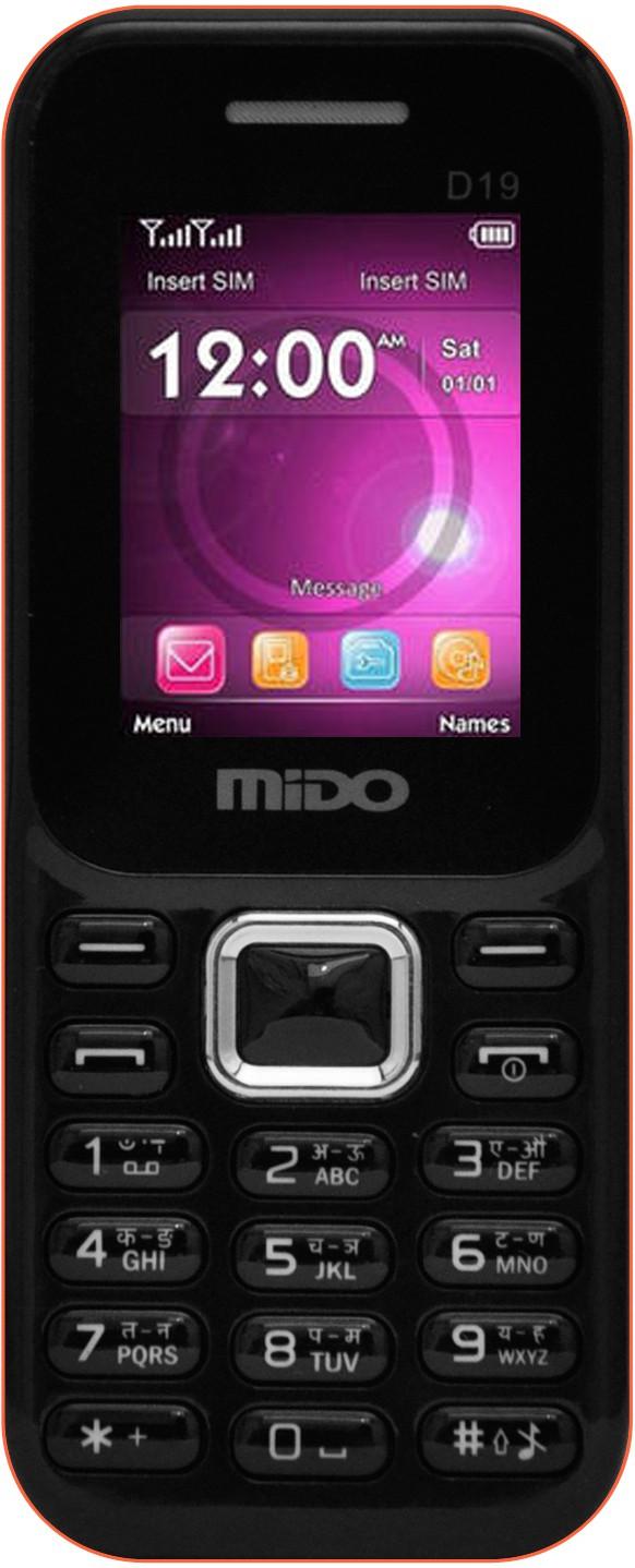 Mido D19(Black & Orange)
