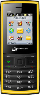 Micromax X103(Yellow)